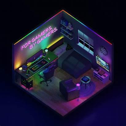 Engine Razer Bedroom Gamer Rooms Gaming Setup