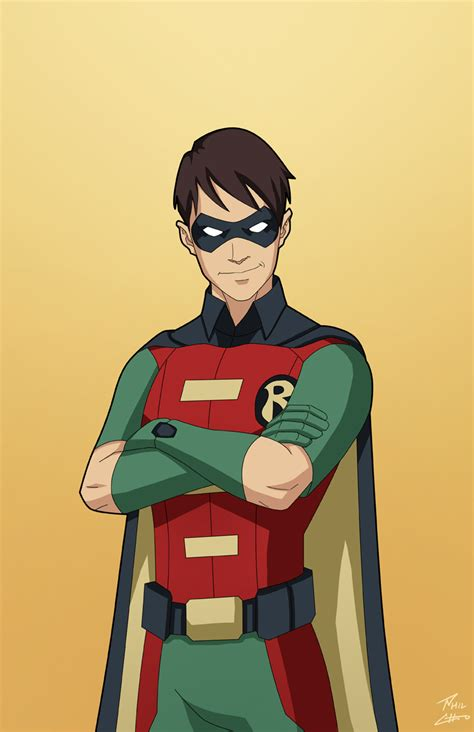 The First Robin (dick Grayson) Commission By Philcho On