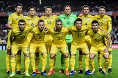 Ukraine's national football team dropped two positions in ...