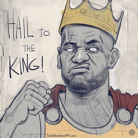 lebron james hail   king sketch basketball drawings