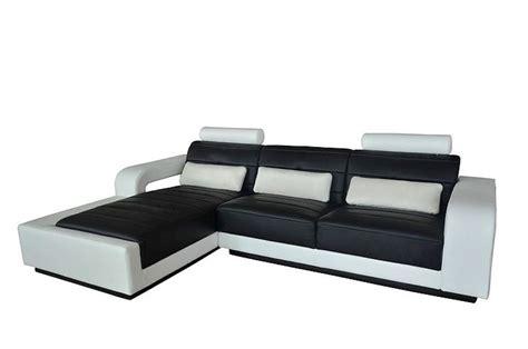 canape blanc pas cher photos canapé design pas cher noir et blanc