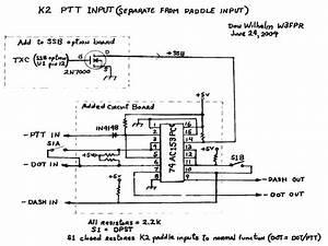 Ptt Input For The Elecraft K2