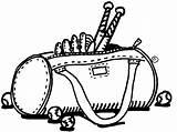 Clipart Bag Clip Bat Softball Sports Cliparts sketch template