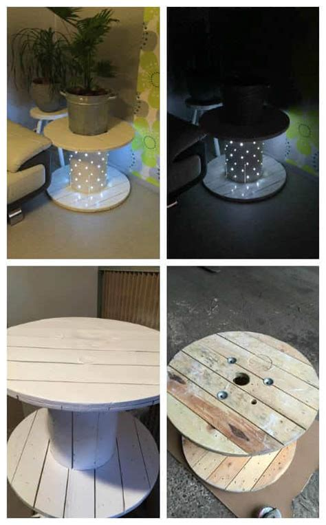 table basse touret reel coffee table pallet ideas