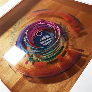 3D Painting: Layered Resin and Acrylic Paint | design ...