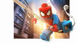 Spider-Man LEGO Marvel Super Heroes Render - Just Push Start