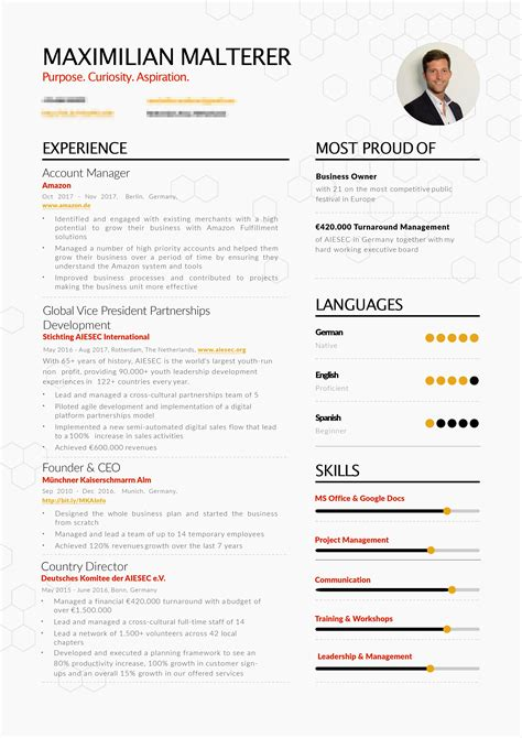 Successful Resume by 10 Exle Of Successful Resume Business Letter