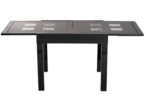 les tendances table carrée extensible table rectangulaire avec allonge 180 cm max comete ii