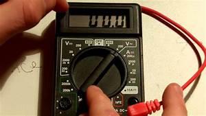 Comment Mesurer Amperage Avec Multimetre : tuto utiliser un multim tre voltmetre amp rem tre ~ Premium-room.com Idées de Décoration