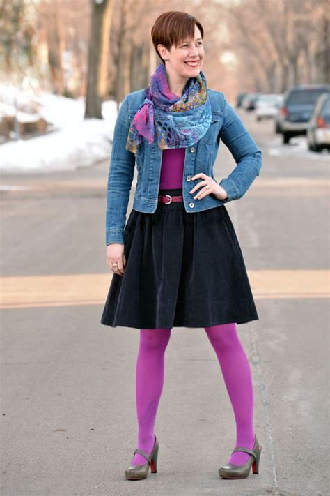 Colored tights Tights and Purple tights on Pinterest
