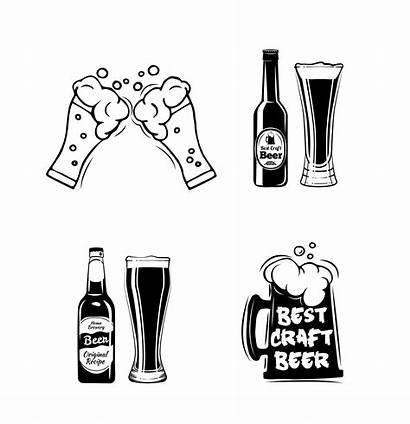 Beer Svg Bottles Craft Alcohol Menu Ale