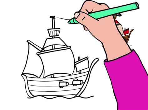 Dessin Facile Bateau A Voile by Apprendre 224 Dessiner Un Bateau De Pirate En 3 233 Tapes