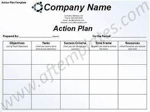 free business action plan template action plan template With written action plan template