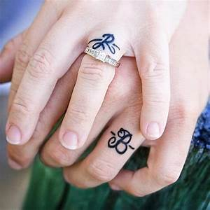40 sweet meaningful wedding ring tattoos With tattoo ring wedding