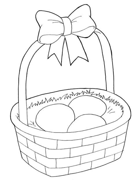 panier de basket chambre easter coloring pages