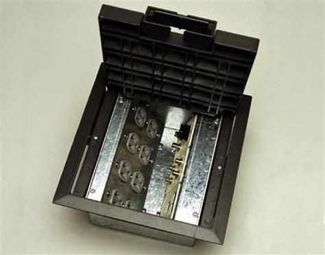 multi service  recessed floor box crfb legrand