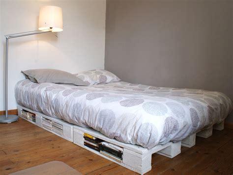 white king bed frame un cadre de lit à base de palettes mademoiselle je sais tout