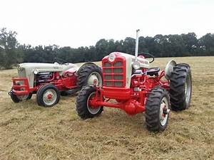 1958 Ford 861 Powermaster And 1957 Ford 600