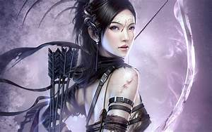 Fantasy Archer Girl Wallpapers | HD Wallpapers | ID #9626
