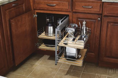 Diamond Cabinetry Base Corner Pull Out   Remodeling