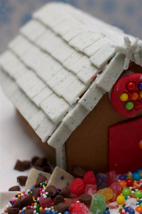 gingerbread house roof ideas unique gingerbread house idea extra gum shingles for the roof spaceships and laser beams
