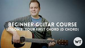 Lesson 8  Your First Chord