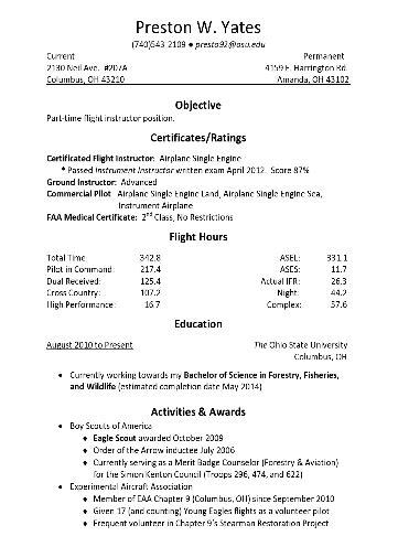 flight instructor resume cover letter flight instructor resumes hvac cover letter sle