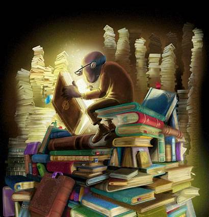 Reading Books Painting Read Magical Writing Reader