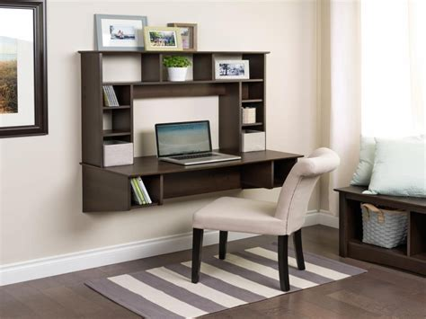 Bedroom Desk Storage by Wall Mounted Study Table Designs Wall Mounted Desk And
