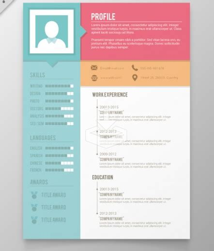 creative resume cv templates xdesigns