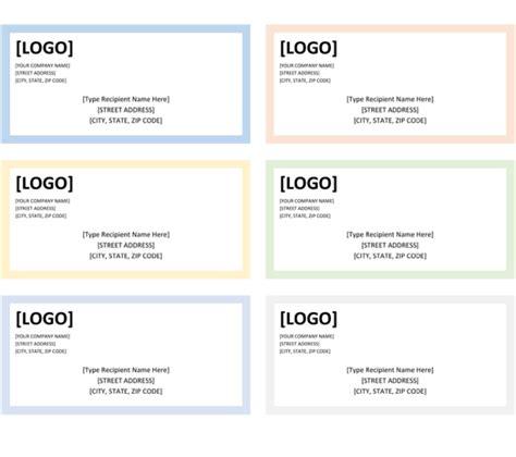 label template 6 per sheet printable label templates