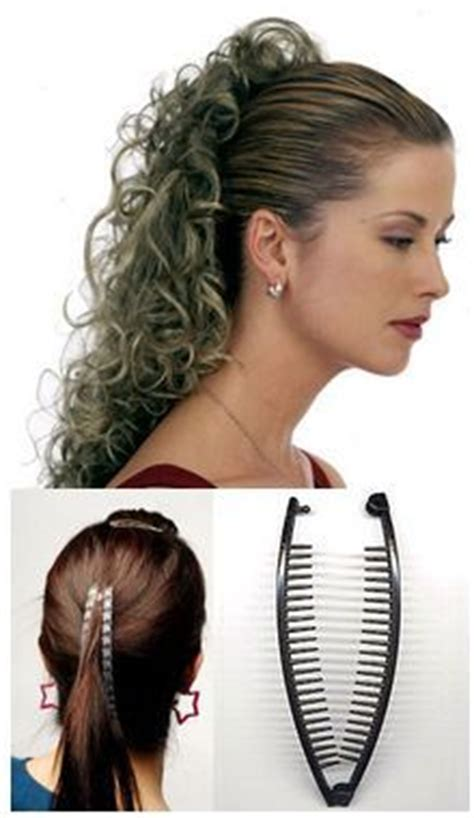80s Banana Clip Hairstyles by 17 Best Ideas About Banana Clip On Banana Clip