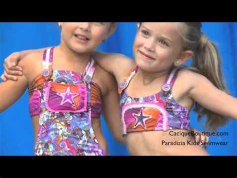 paradizia kids swimwear siren  love swimsuit youtube