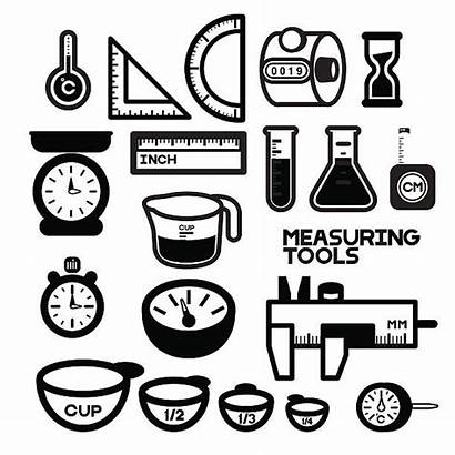 Measuring Clipart Tools Vector Cup Instruments Devices