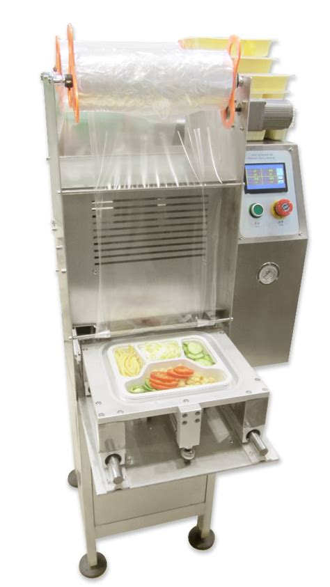 fast food  vertical automatic lunch tray sealing instant noodls cup packing machine buy