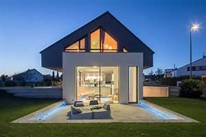 Häuser In Deutschland : houzzbesuch ein modernes ulmer einfamilienhaus am hang ~ Eleganceandgraceweddings.com Haus und Dekorationen