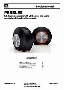 Jbl Pebble Service Manual  U2014 View Online Or Download Repair