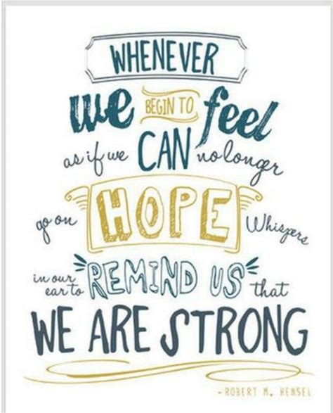 These are the same scriptures on hope i read daily when i am feeling sad or depressed. Quotes About Hope And Strength. QuotesGram