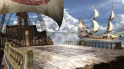 Ship Deck Poop Pirate Soul Soulcalibur Stage