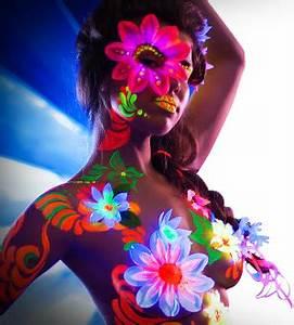 UV Neon Body Paint rainbow Pinterest