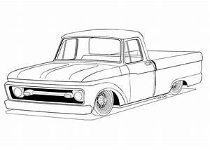 old ford truck coloring pages coloring pages pinterest With 1972 ford falcon gt