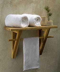 Etagere Murale Fixation Invisible : tag re salle de bain un bain d 39 id e pour faire le bon ~ Melissatoandfro.com Idées de Décoration