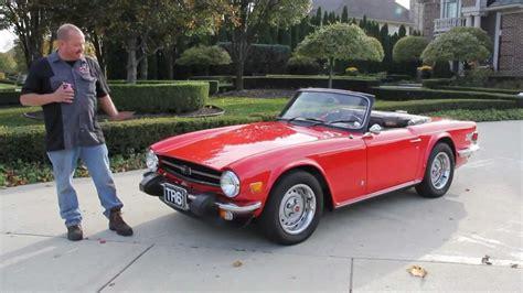 triumph tr classic muscle car  sale  mi