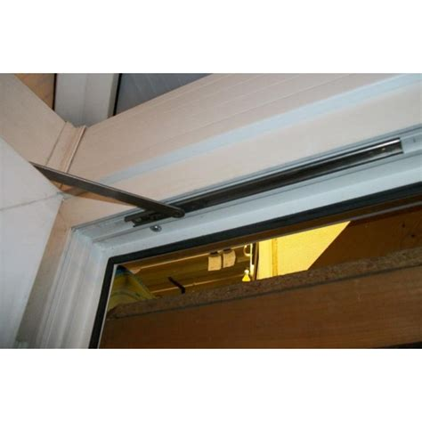 door restrainer we had a similar problem not with