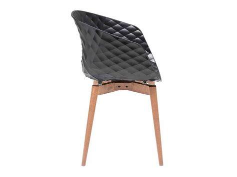 Armchair With 4 Wooden Legs Frame Uni-ka 599