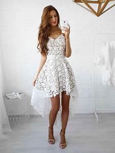 best 25 robe dentelle blanche ideas on pinterest robe With robe blanche courte dentelle