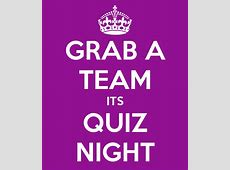 quiz Wetherby Musical Theatre Group