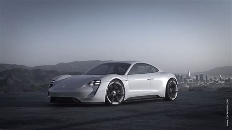 porsche electric mission e cgi gives us the first glimpse inside porsche s electric