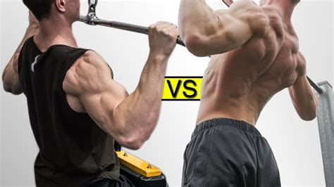best pull ups lat pulldown vs pullup best one for you