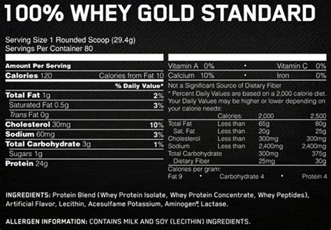 ON Whey Gold Standard |Among the Top Protein Powders